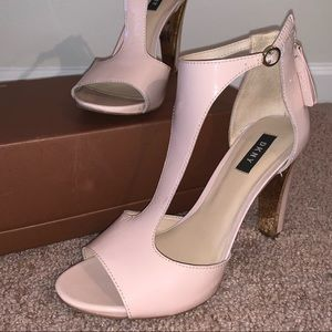 DKNY Colby T-Strap Heels
